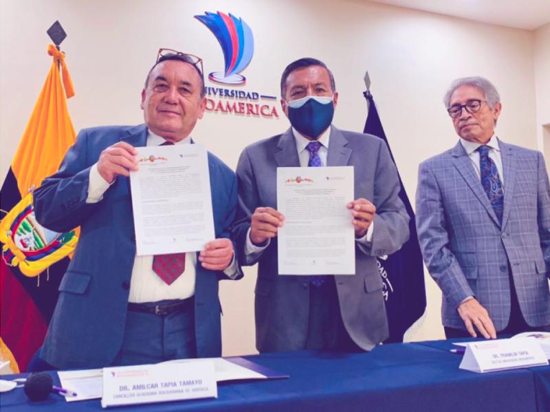 convenio bolivariana indoamerica ecuador